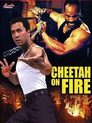Cheetah on Fire movie poster, 1993, Actor: Donnie Yen Chi-Tan, Hong Kong Film