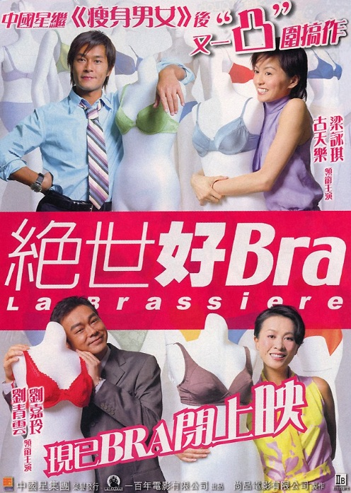 La Brassiere Movie Poster, 2001, Actor: Louis Koo, Hong Kong Film