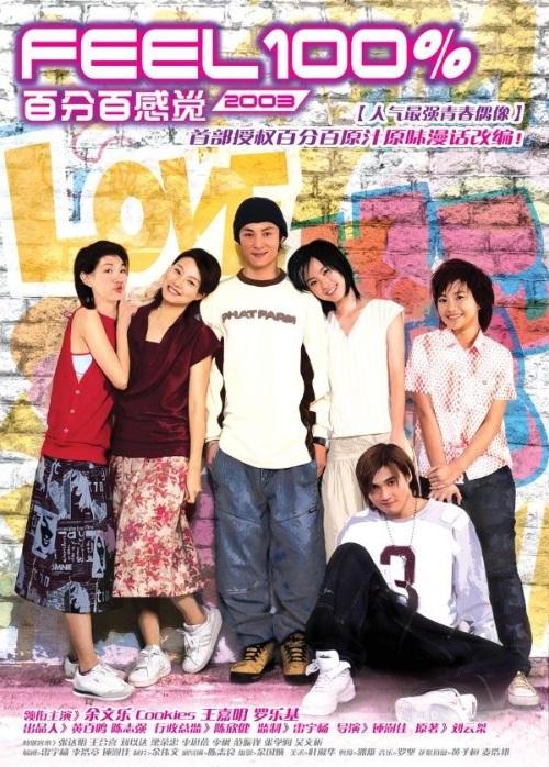 Feel 100% 2003 Movie Poster, Actor: Shawn Yue Man-Lok, Hong Kong Film