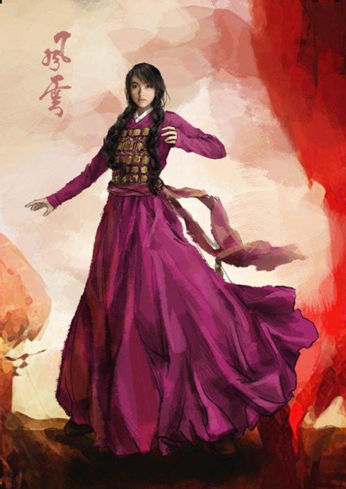 The Storm Warriors Movie Poster, 2009, Actress: Tiffany Tang Yan, Hong Kong Film
