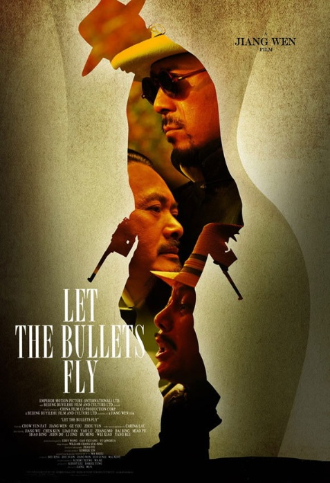 Let the Bullets Fly Movie Poster, 2010, Chow Yun-Fat, Chinese Film