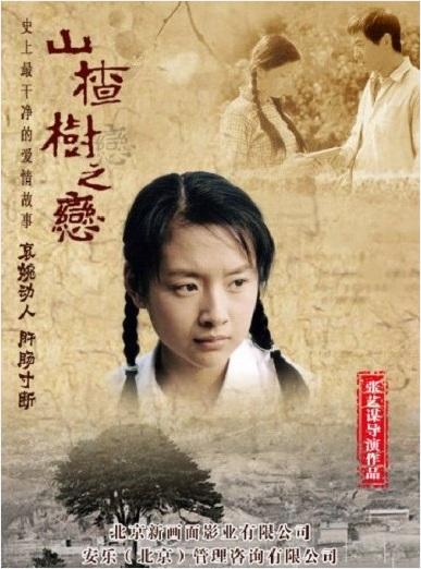 Under the Hawthorn Tree Movie Poster, 2010, Zhou Dongyu