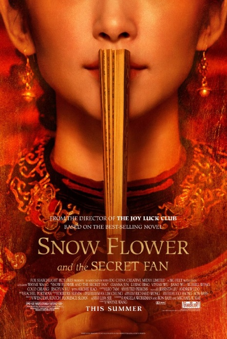 Snow Flower and the Secret Fan Movie Poster, 2011