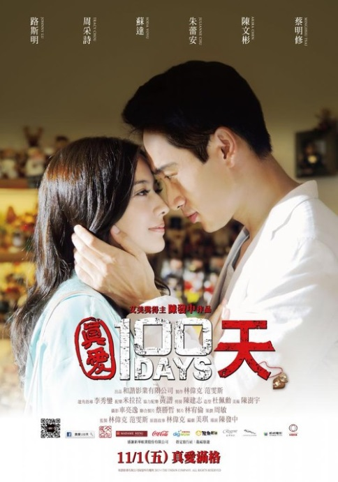 100 Days Movie Poster, 2013