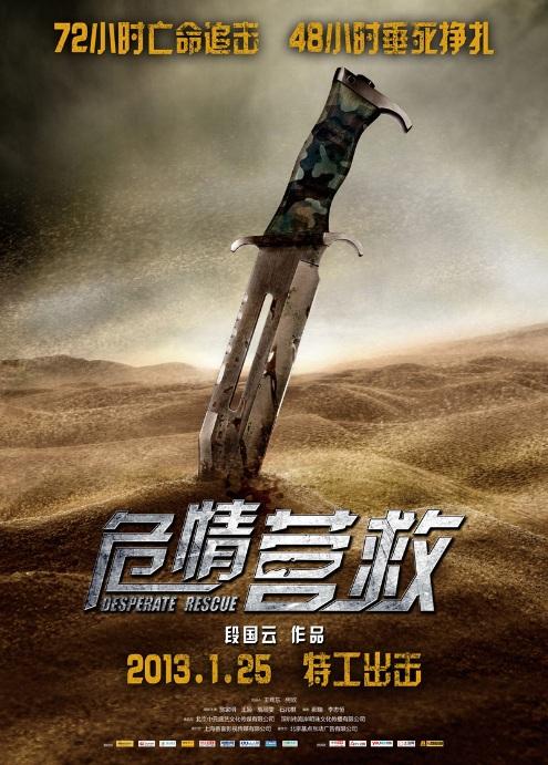 Desperate Rescue 危情營救 Movie Poster, 2013
